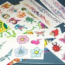 Temporary Tattoos - Variety of 25 Tattoos - Assortment #6