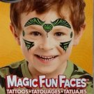 Temporary Tattoos ~ Magic Fun Faces ~ Savvi Serpent Temporary Tattoos 2 Sheets