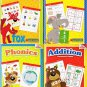 Homework Helper - Spelling Phonics Addition Subtraction Workbooks - 1st Grade(4 Workbook Pack)