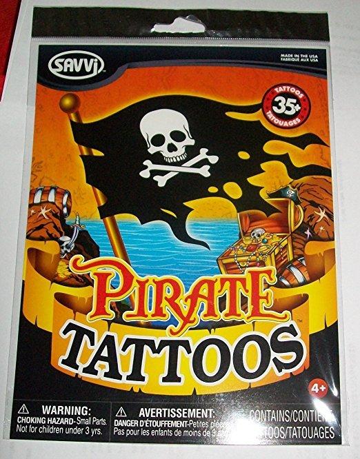 Savvi - Pirate Tattoos - 35+ Tattoos