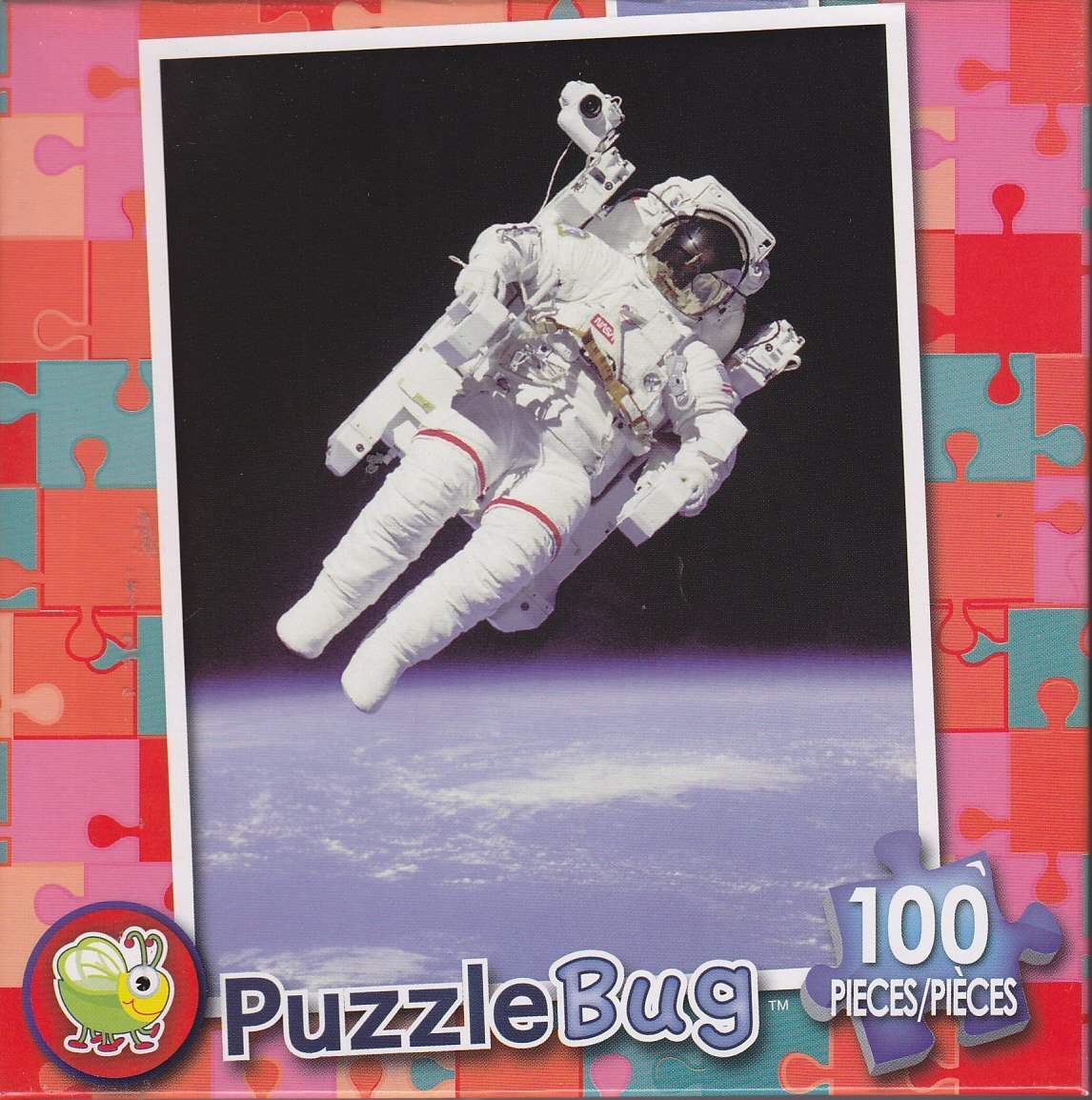 Puzzlebug 100 Piece Puzzle ~ Astronaut in Space.