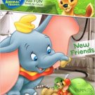 Disney Animal Friends Big Fun Book to Color ~ New Friends