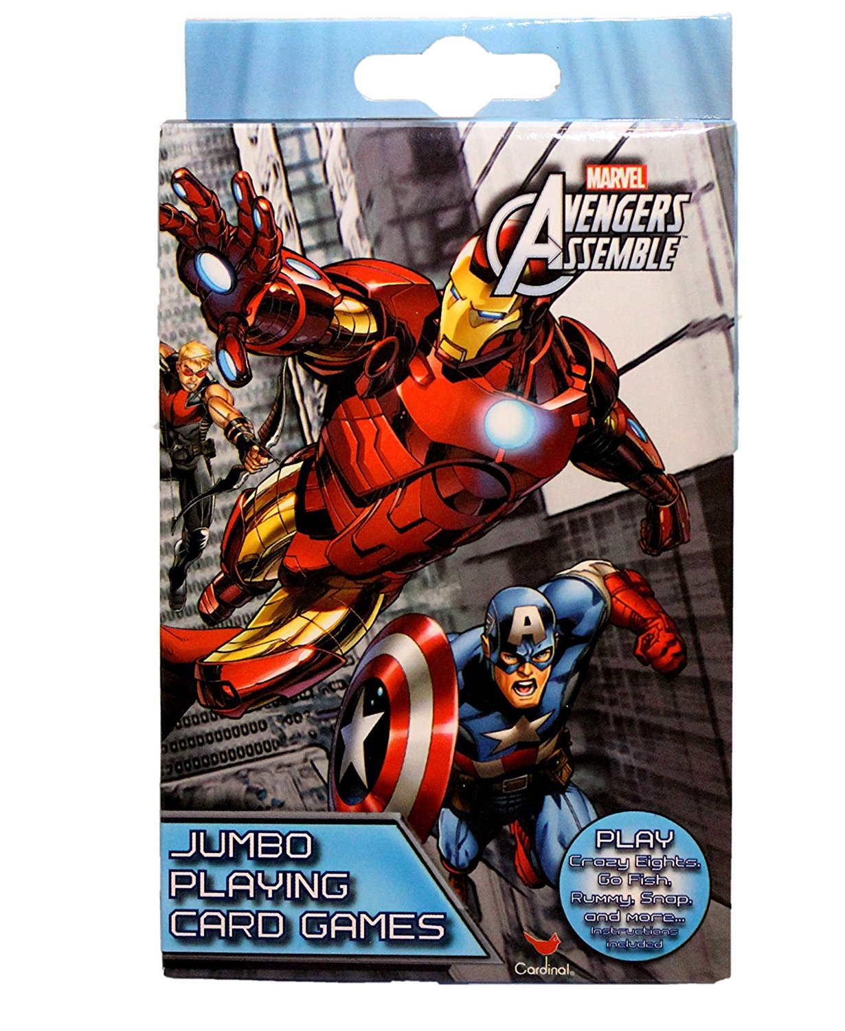 Marvel Avengers Assemble Jumbo Playing Card Games