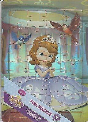 Disney Princess Sofia the First 24pc Foil Puzzle