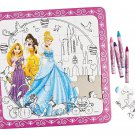 "Color Your Own 20-pc Disney Princess Puzzle. 10"" X 10"". Cardboard"