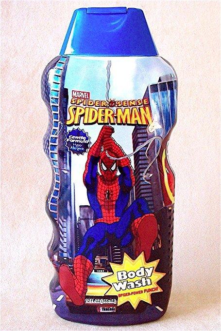 Marvel Spider Sense Spider-Man Body Wash - Spider-Power Punch 12 fl. oz.
