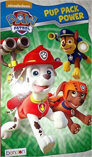 Nickelodeon Paw Patrol Pup Pack Power Board book