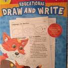 Educational Draw & Write Educational Sheets, Grades 1-3. Workbook