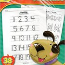 Counting - 38 Educational Sheets Workbook - Kindergarten