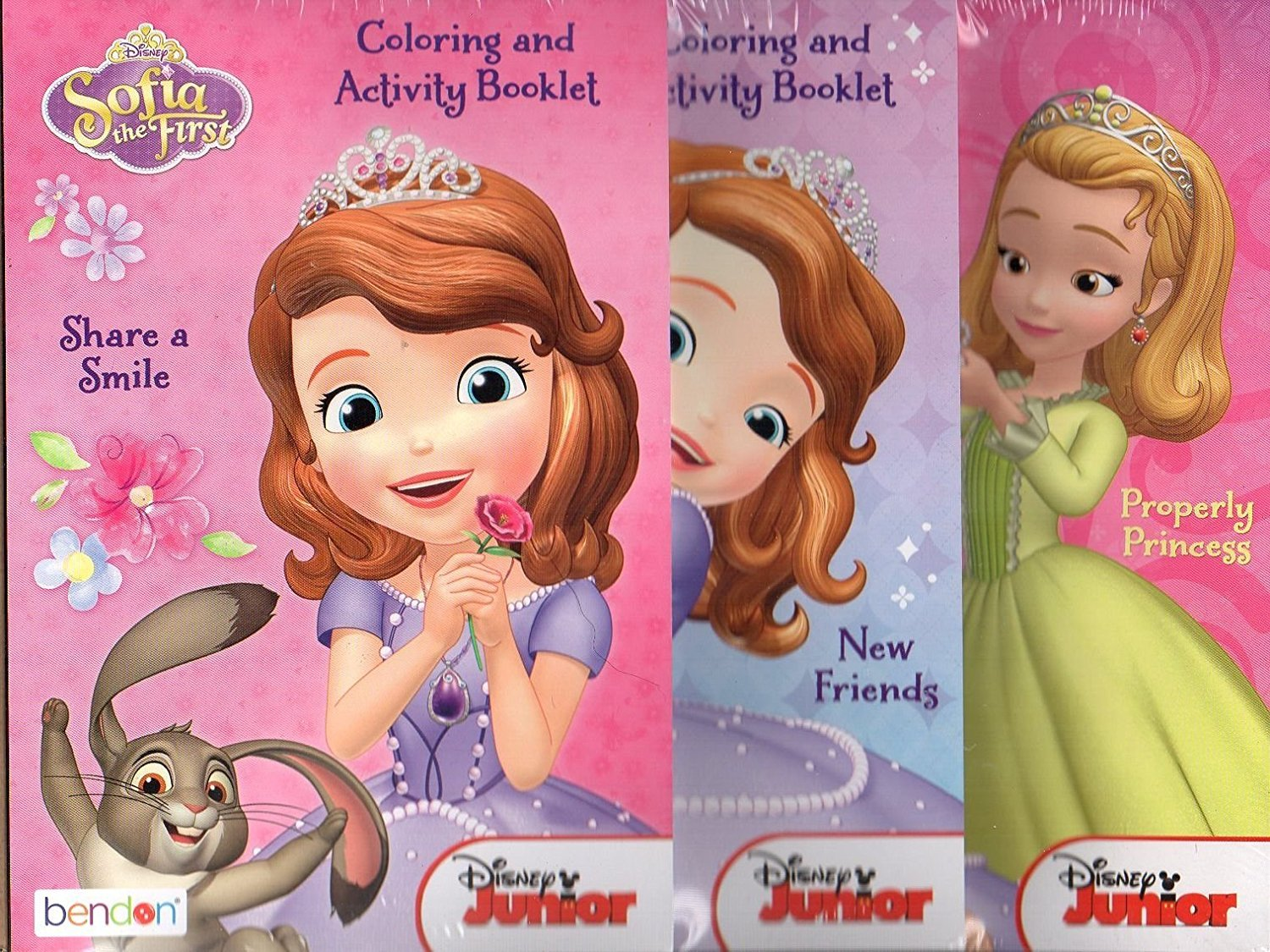 Sofia the First Activity Pads ~ Set of 3