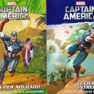 Marvel Captain America - Officially Licensed Bilingual (Spanish English) - Coloring Book Set(2 Pack)