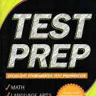 Kindergarten Grade Math & Language Arts Test Prep Workbook (Aligned with Common Core Standards)
