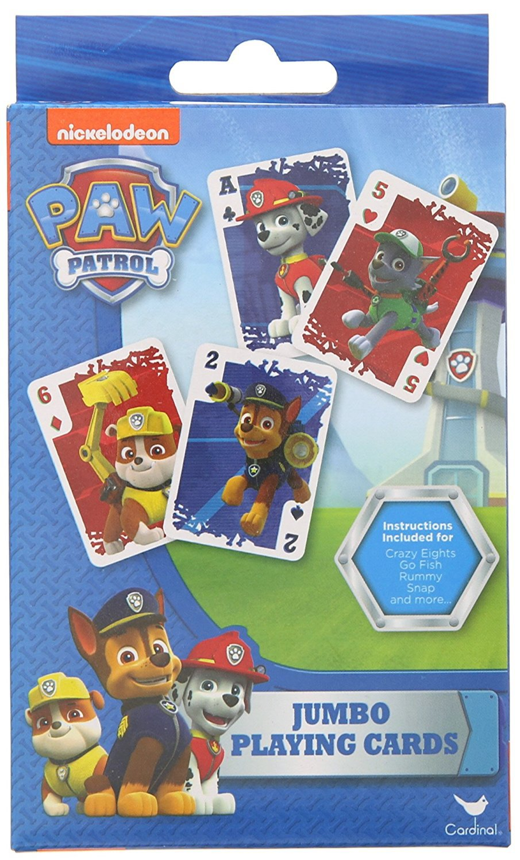 Nickelodeon Paw Patrol Jumbo Playing Cards