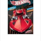 Hot Wheels Chrome: Sticker Scene Book to Color