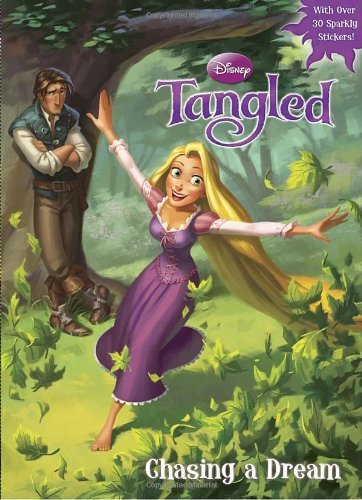 Chasing a Dream (Disney Tangled) (Hologramatic Sticker Book)  Cynthia Hands