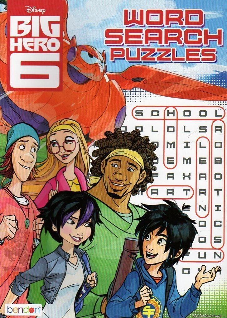 Disney Big Hero 6 Word Search Puzzles Book - V3