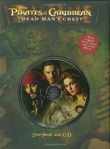 Pirates of the Caribbean: Dead Man's Chest Storybook and CD. Book.