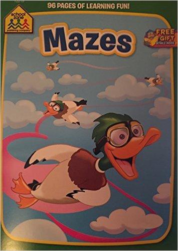 School Zone Mazes. Activity book