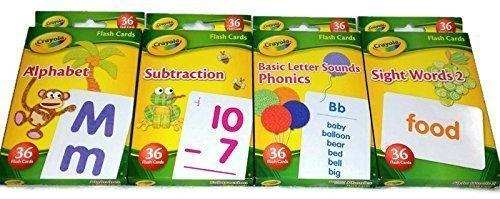 Crayola Bundle Flash Cards Fun Learning Early
