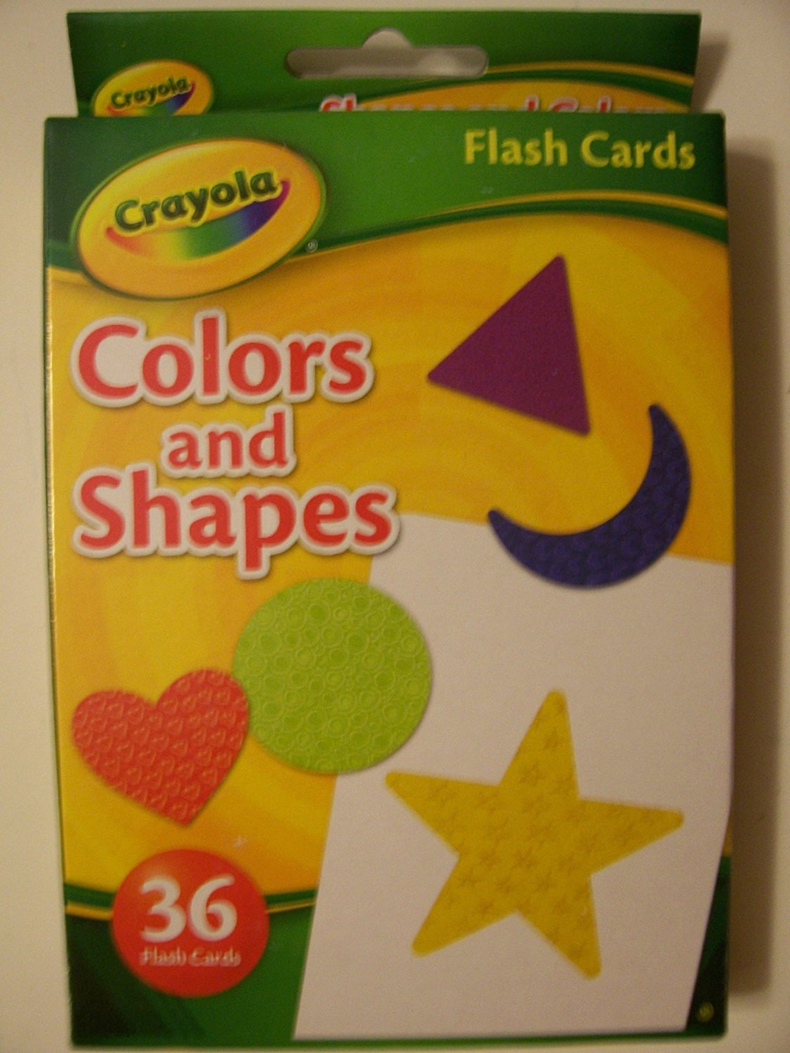 Crayola Educational Flash Cards ~ Colors and Shapes