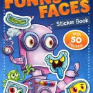 Funny Faces Sticker Book: Robots (Funny Faces Sticker Books)