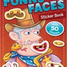 Funny Faces Sticker Book: Cowboys (Funny Faces Sticker Books)