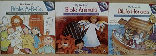 My Book of Bible ABCs, Animals, and / or Heroes (With 8 Songs CD). Book.  Stephen Elkins