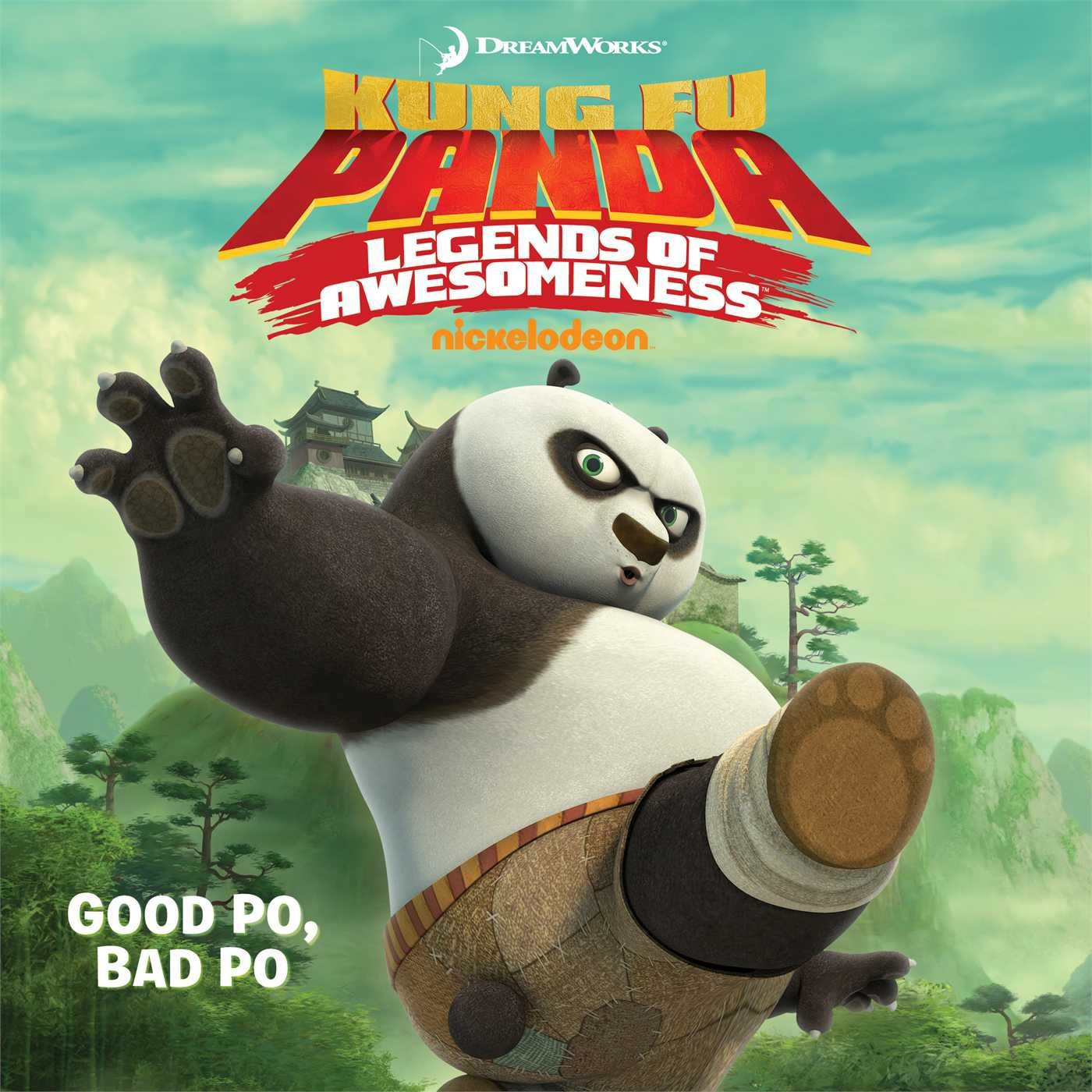 Good Po, Bad Po (Kung Fu Panda TV). Book.