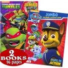 Nick Jr. Favorites: PAW Patrol & Teenage Mutant Ninja Turtles Coloring and Activity Book Set