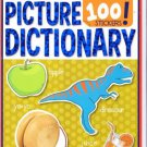 Picture Dictionary (My First Book of 100 Stickers) ~ Coloring & Activity Book