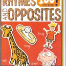 Rhymes & Opposites (My First Book of 100 Stickers) ~ Coloring & Activity Book