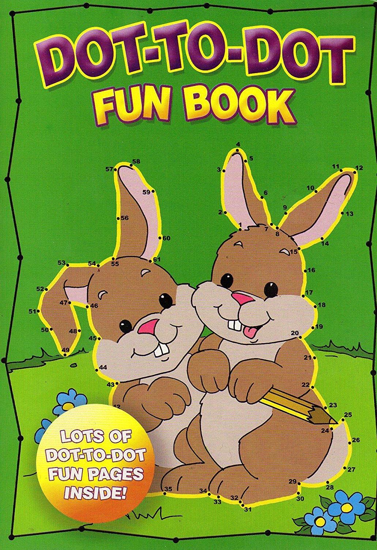 Dot-To-Dot fun book fun book - High Quality Pages - v1