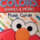 Sesame Street Colors, Shapes & More Flash Cards