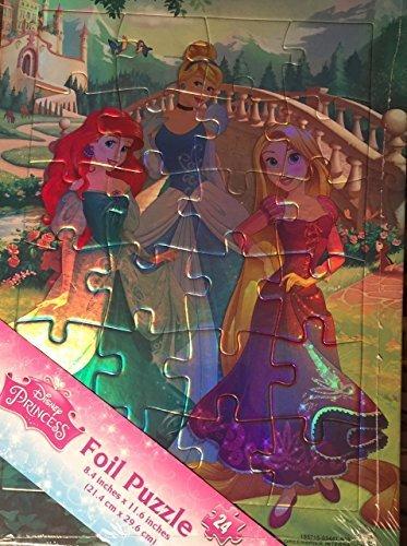 Disney Princess Foil Puzzle 24 pieces