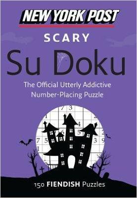 New York Post Scary Su Doku. Book.