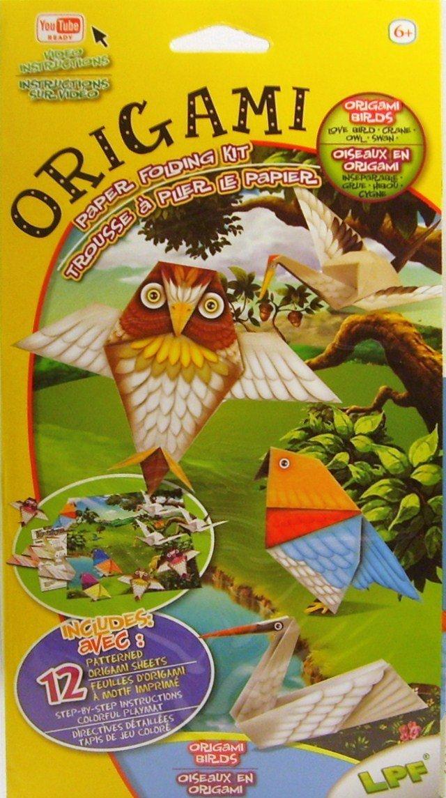 Origami Paper Folding Kit YouTube Ready Video Instructions - Origami Birds