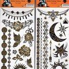 Happy Halloween Temporary Temporary Tattoos - (Bundle 2 Items) V2