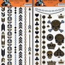 Happy Halloween Temporary Temporary Tattoos - (Bundle 2 Items) V4