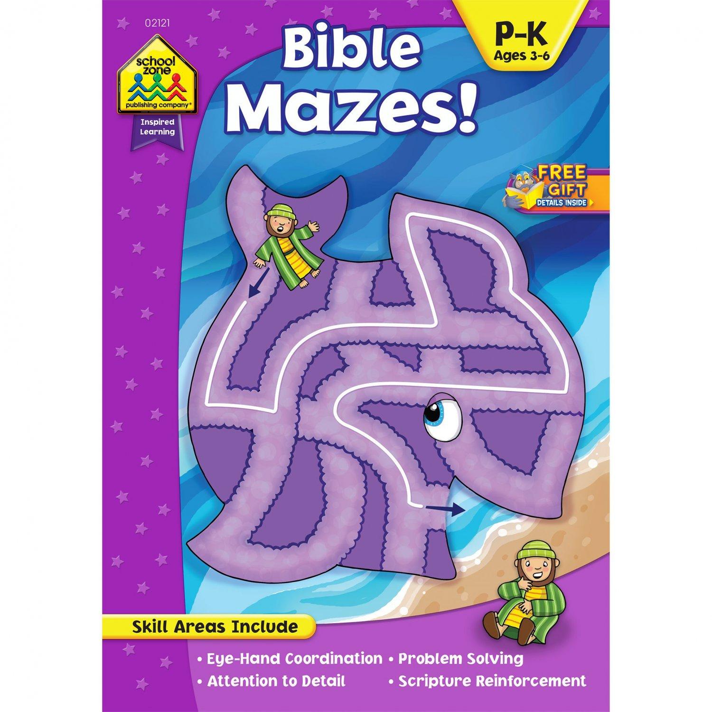 Bible Mazes. Book.