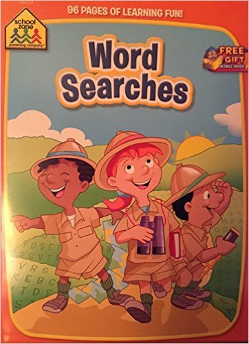 School Zone Word Searches. Activity Book