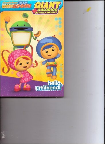 Team Umizoomi Giant Coloring + Activity Booklet ~ Hello, Umifriend!