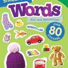 My Favorite Sticker Book: Words