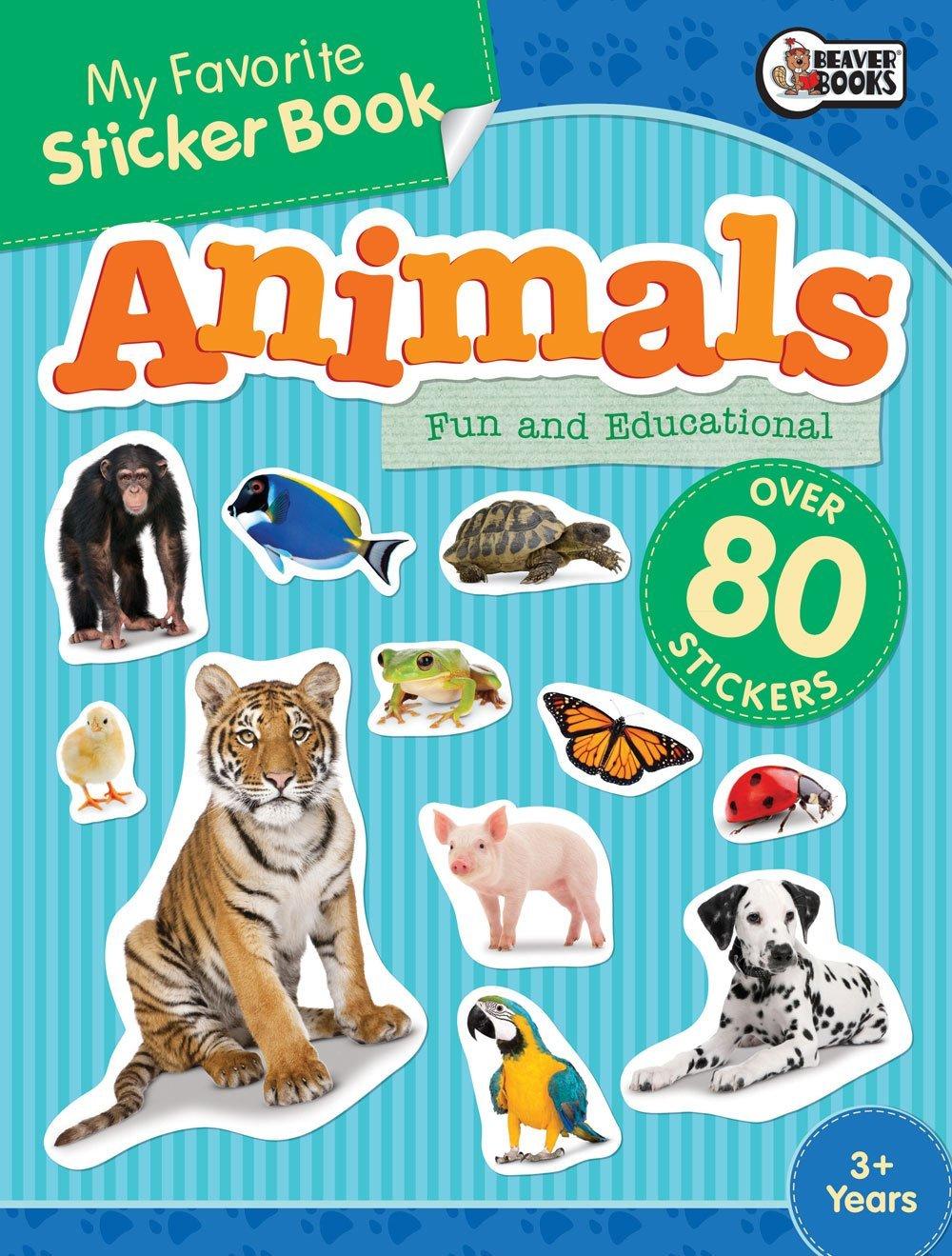 My Favorite Sticker Book: Animal