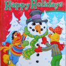Sesame Street Jumbo Coloring and Activity Book Happy Holidays by sesame street
