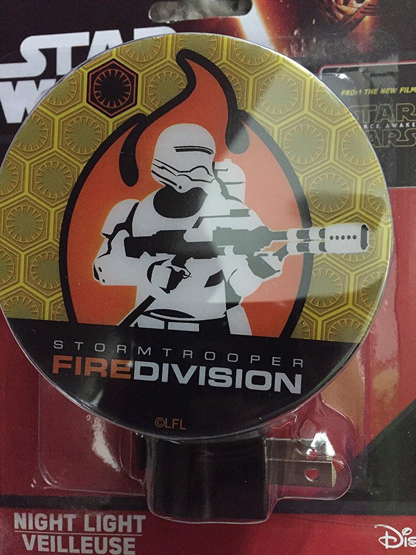 Classic Star Wars Night Light ~ Darth Vader, Storm Troopers, Yoda (White)