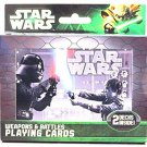 Star Wars Weapons & Battles Illustrated Double Deck Playing Cards in Tin