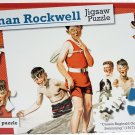 Norman Rockwell Puzzles 4 Pack Of Saturday Evening Post New 500 Piece Jigsaw Puzzle