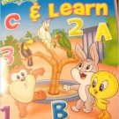 Baby Looney Tunes Color & Learn ~ A Day at the Zoo Coloring & Activity Book