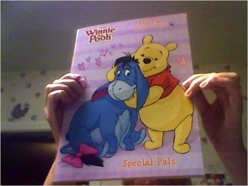 Play Pals Disney Winnie the Pooh Big Fun Book to Color