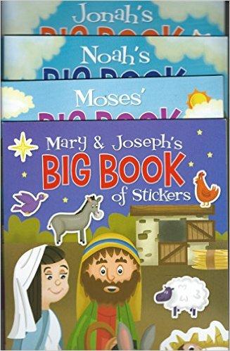 Mary & Joseph's/Moses'/Noah's/Jonah's Big Book of Stickers